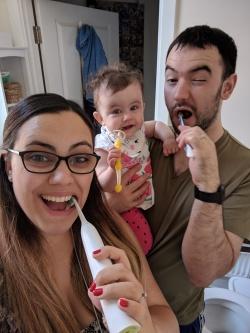 teeth Mam family brush